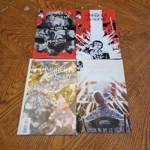 Gerard Way The Umbrella Academy Bundle of Comics